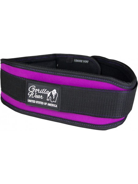 Пояс Women's Lifting Belt Black/Purple