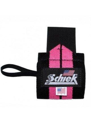 Кистевые бинты женские Schiek Pink