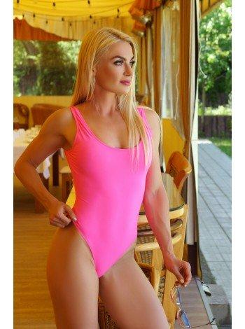 Купальник K8-C35 розовый сдельный купить Украина