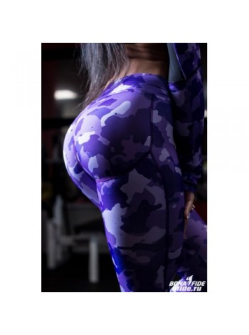 Лосины Push - UP (Military Purple)