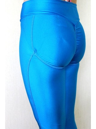 Лосины Push UP ( Blue)
