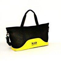 Женская спортивная сумка LATTICE (желтая)